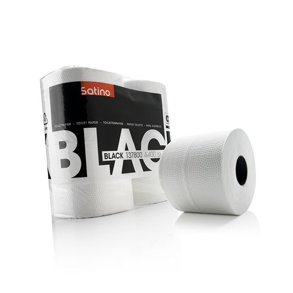 Satino black toiletpapier wit 137800
