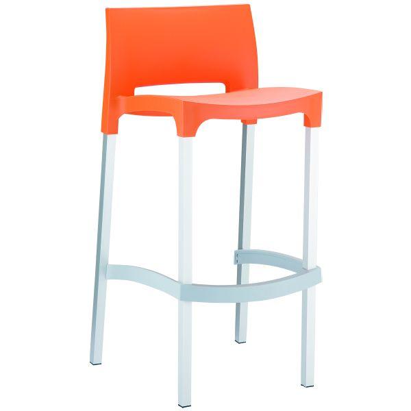 design barkruk Gio oranje