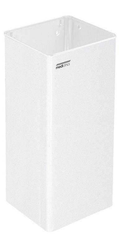 Mediclinics afvalbak open model wit 80 liter PP1080/ super kwaliteit (1)