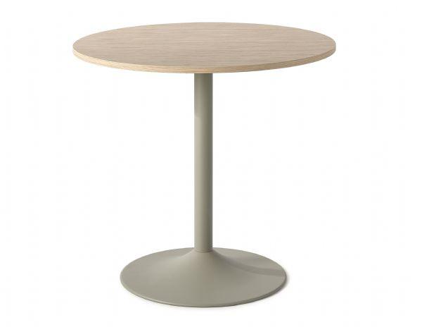 Ronde tafel Homeware model 1145 bamboe blad 75cm hoog (1)