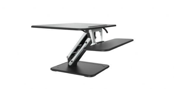 Zit-sta module Medium zwart voor elk bureau (1)