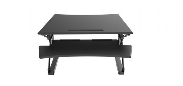 Zit-sta module Extra Large voor staand en werken achter betaand bureau (1)