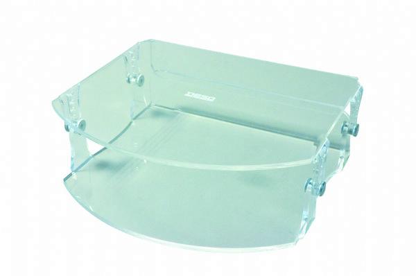 Desq acryl monitorstandaard, verstelbaar, productcode 1538 voor werkplek of bureau (1)