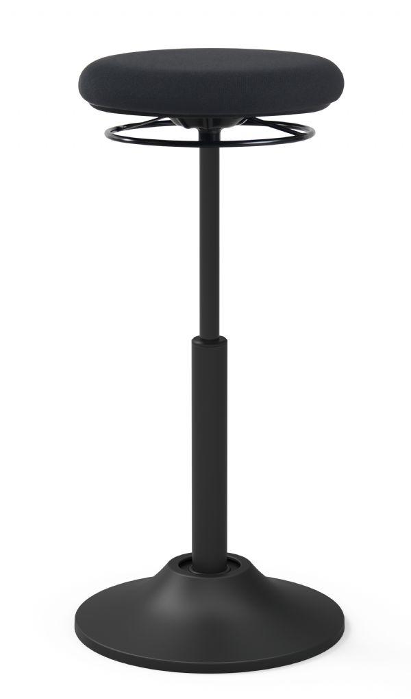 Zit-sta kruk model Mango in zwart hoogte verstelbaar (1)