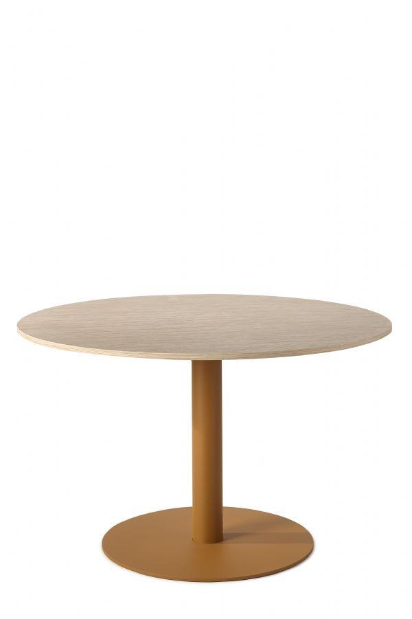 Ronde tafel homeware model 1810 120cm doorsnede en bamboe blad (1)