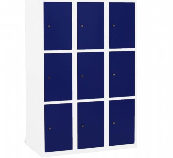 Lockers 9 vakken en deuren model Classic in veel Ral kleuren samen te stellen. (1)