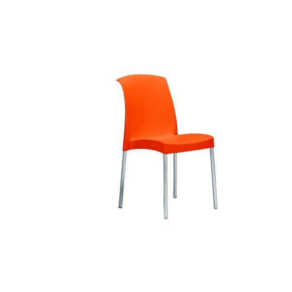designstoel jenny oranje