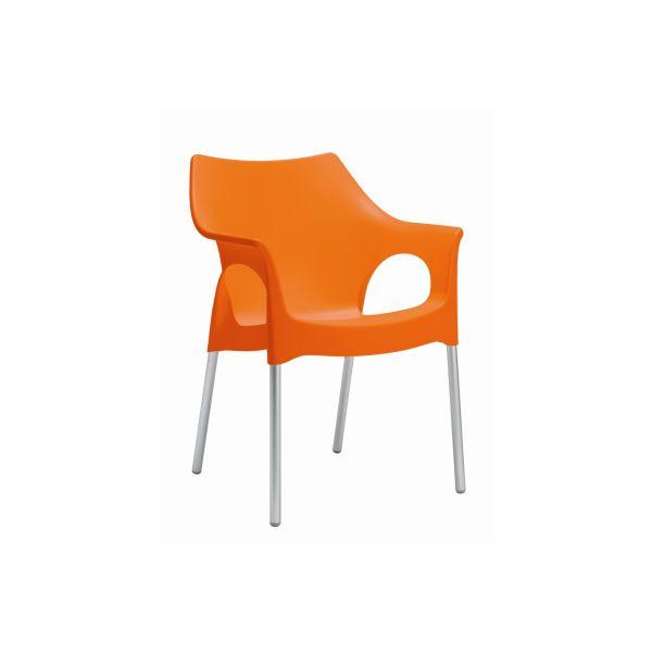 Ola designstoel oranje 2117
