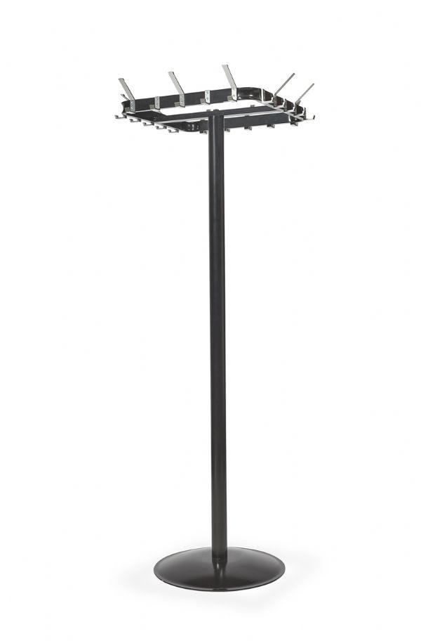 Kapstok PURE model 2200 vrijstaand met 10 grote en 10 kleine jashaken (1)