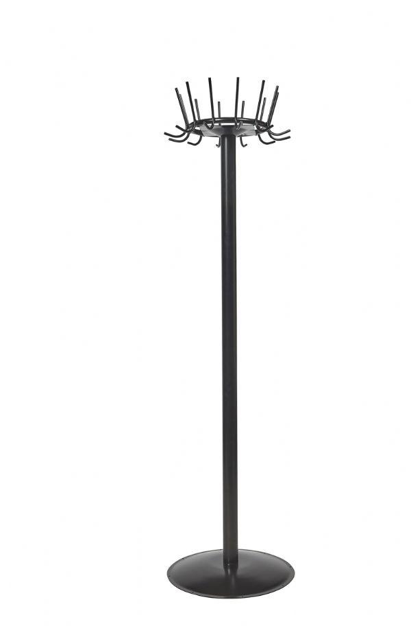 Kapstok PURE model 2205 met 12 jashaken in 6 kleuren leverbaar (1)