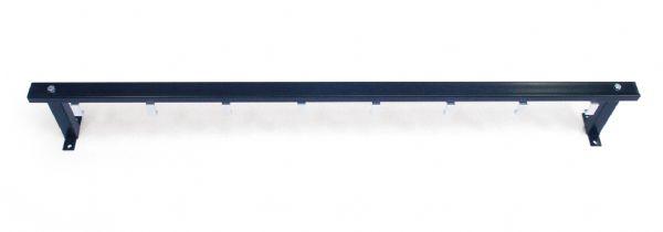 Wandkapstok PURE model 2225 lengte 125cm met 8 jashaken (1)