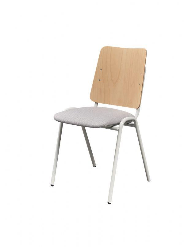 Goedekope Nordic stoel model 3214 met gestoffeerde zitting en beuken rug (1)