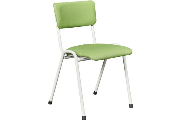 Kantine of bezoekersstoel PURE model 3304 gestoffeerd (1)