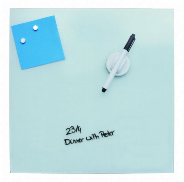 Desq magnetisch glasbord wit, 45x45cm, 4252.01 om snel even een aantekening te maken (1)