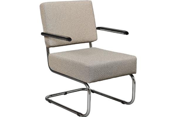 Voordelige stoel fauteuil Sense 4415 met armleggers en bekleding stof (1)