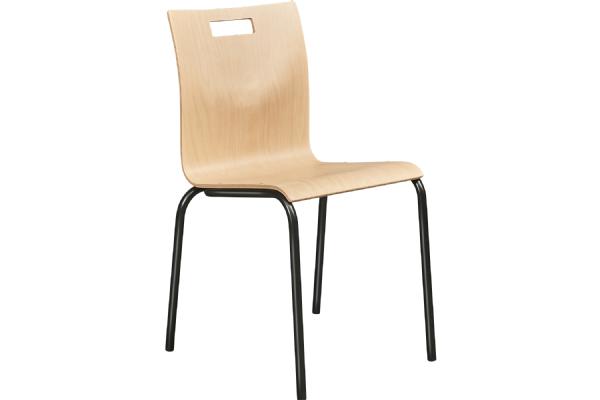 Stoel Style 4450 beukenschaal 4 poot goedkope en sterke kantine stoel (1)