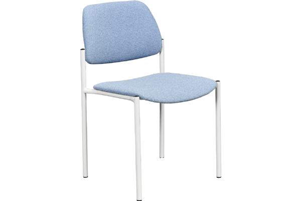 Bezoekersstoel Lean 5552 zit en rug gestoffeerd (1)