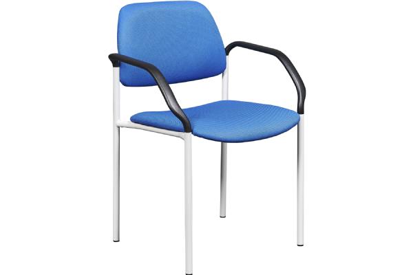 Conferentiestoel LEAN 5553 gestoffeerd met armleggers stijlvol en comfortabele zit (1)