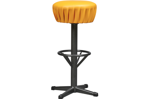 Barkruk SOLID model 6610 met kunstleder zitvlak en stalen frame in 7 kleuren (1)