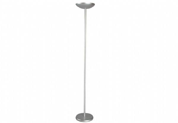 Maul staande lamp spaarlamp maulsky aluminium 8254595 (1)