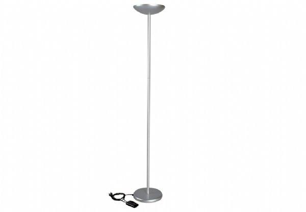 Maul staande halogeenlamp maulsky aluminium met dimmer 8254095 (1)