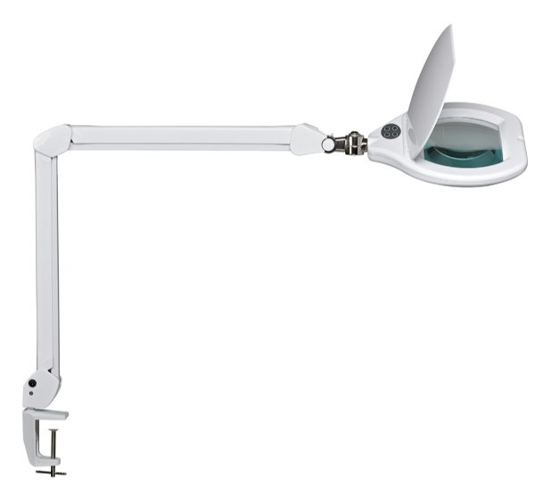Maul loeplamp led maulcrystal wit, dimbaar 8266002 (1)