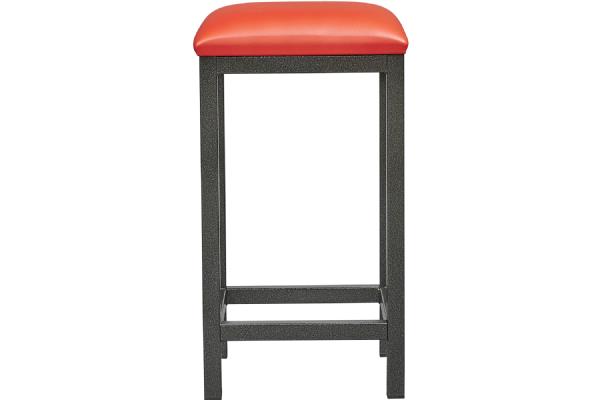 Barkruk 6802 met kunstleder zitvlak en stalen frame 4 poot (1)