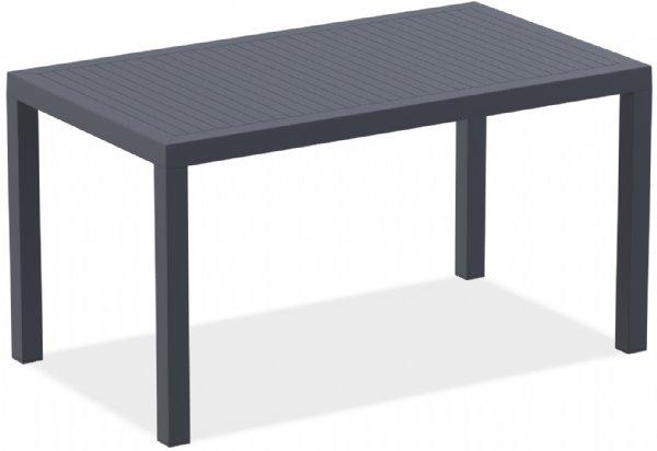 Stevige terras tafel  of tuintafel Ares 140x80cm donkergrijs (1)