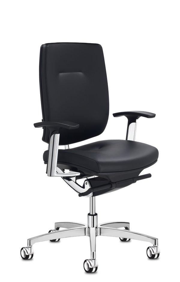 Spirit manager bureaustoel met armleggers Italiaans design met vele opties (1)