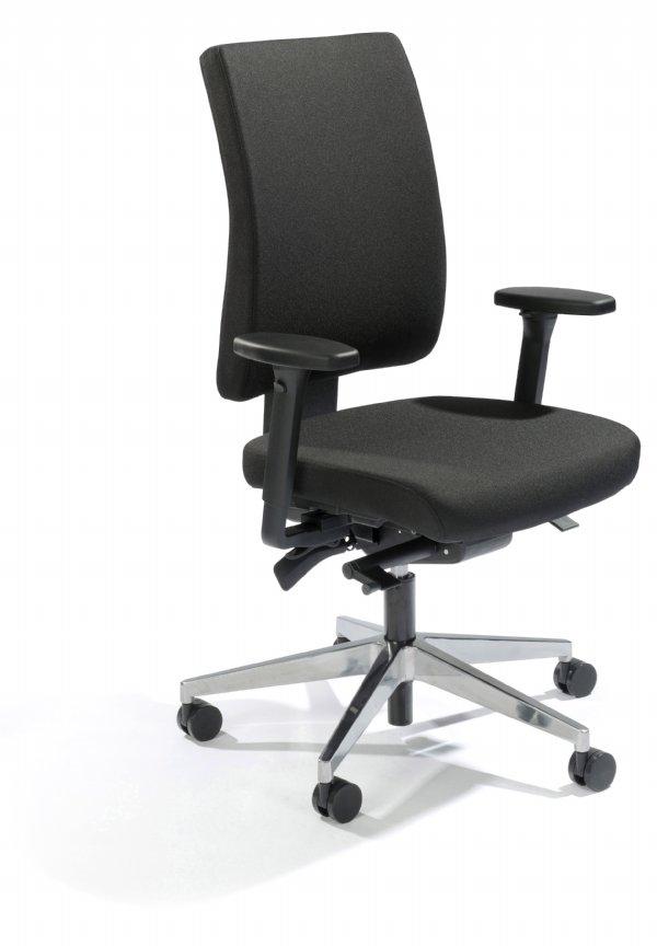 Goedkope NPR bureaustoel Custom in zwart met TUV testrapport (1)