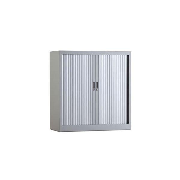 Roldeurkast 105x100cm aluminium ral 9006 chs 105-100