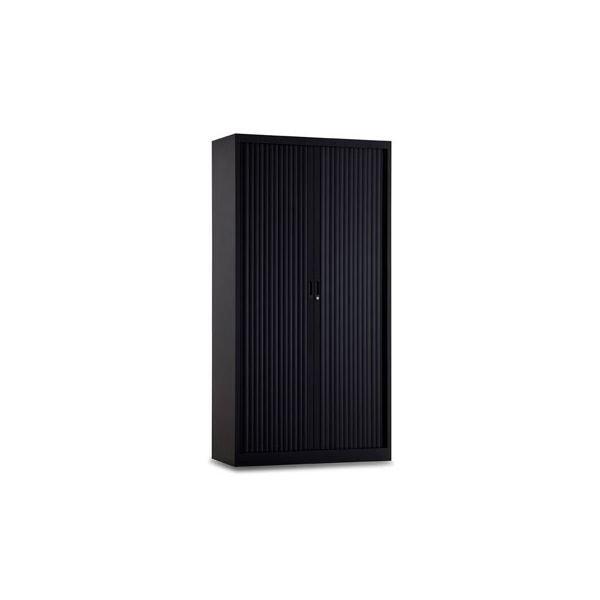 Roldeurkast 195x100cm ral 9005 zwart chs 195-100