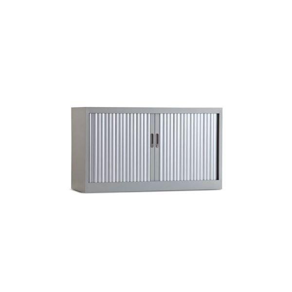 Roldeurkast 70x120cm aluminium Ral 9006 chs 70-120