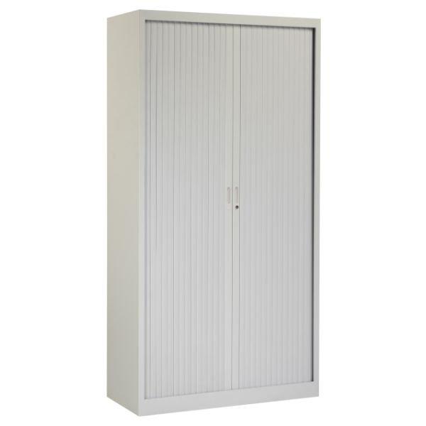 Roldeurkast 195x100cm grijs ral 7035 chs 195-100