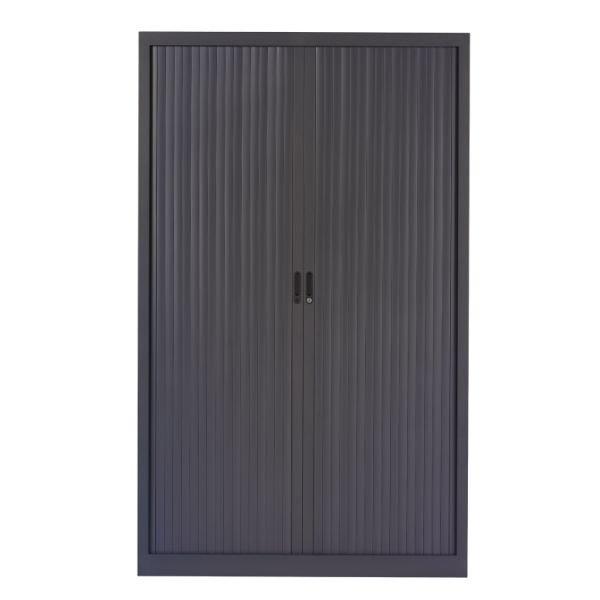 Roldeurkast 195x120cm zwart chs 195-120
