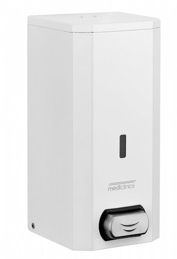 Mediclinics handzeepdispenser RVS wit 1500ML DJ0031 voor alle sanitaire ruimten, keukens en toiletgebouwen (1)