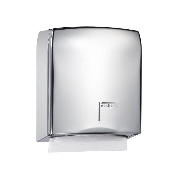 handdoekdispenser Mediclinics RVS hoogglans DT0106C