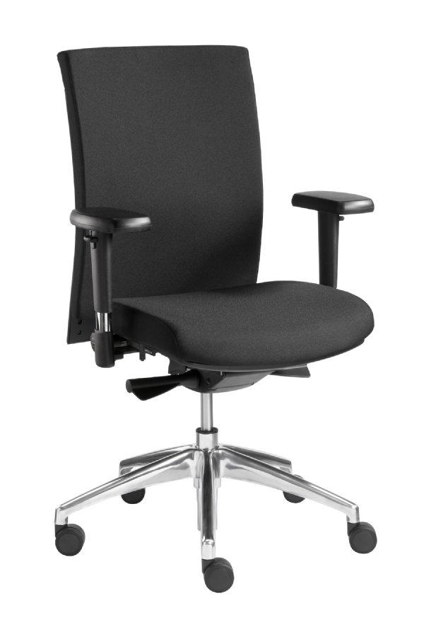 Kantoorstoel Sitlife met NPR 1813 model Kuma kleur zwart uit voorraad leverbaar (1)