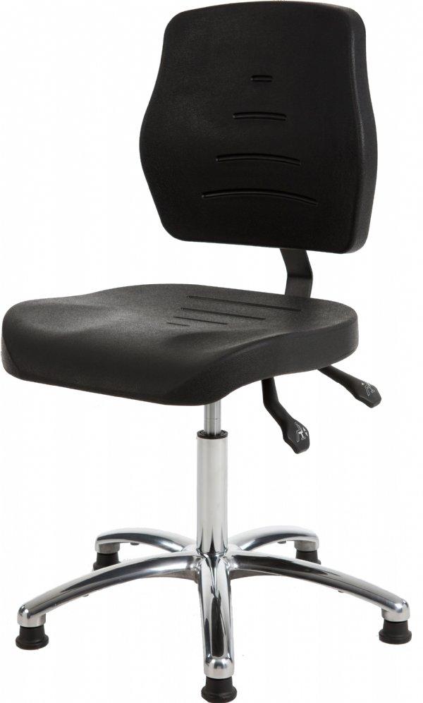 Comfortabele productiestoel MAX160 met PUR zitting en rug | levering o.a. in Utrecht, Gelderland, Noord Holland, Zeeland en Zuid Holland (1)