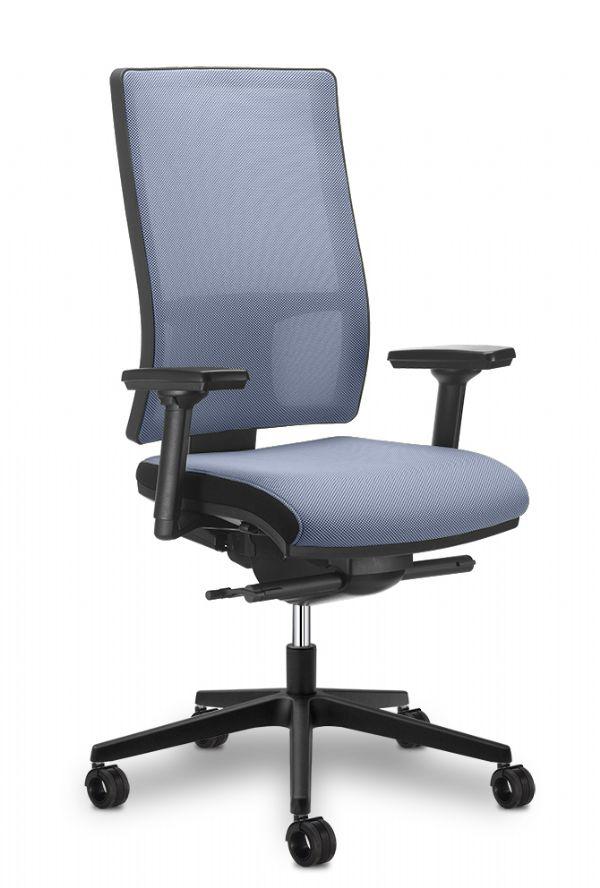 Goedkope MESH-LINE bureaustoel ook als thuiswerk stoel (1)