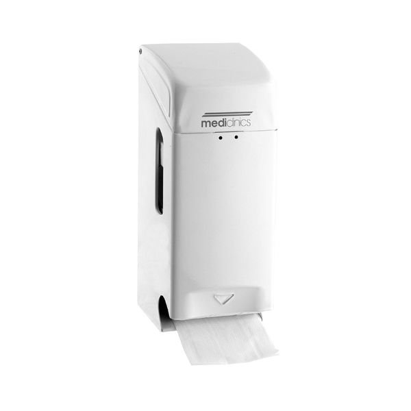 Toiletroldispenser Mediclinics PRO784 wit staal
