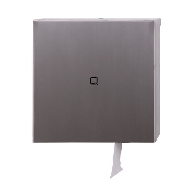 toiletroldispenser Qbicline RVS mat QTR1L SSL