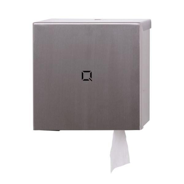 toiletrolhouder Qbic-line RVS mat QTR1S SSL