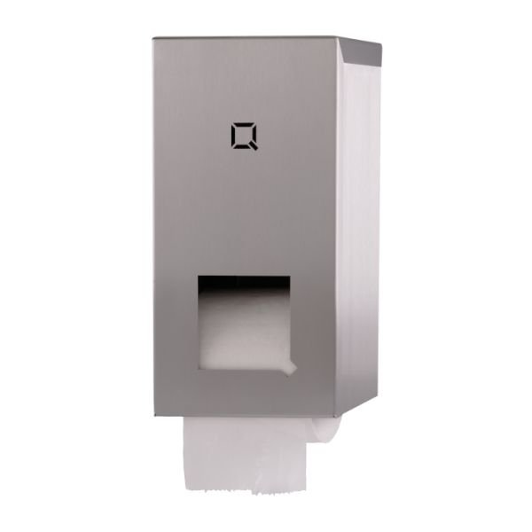 toiletroldispenser Qbicline RVS mat QTR2S SSL