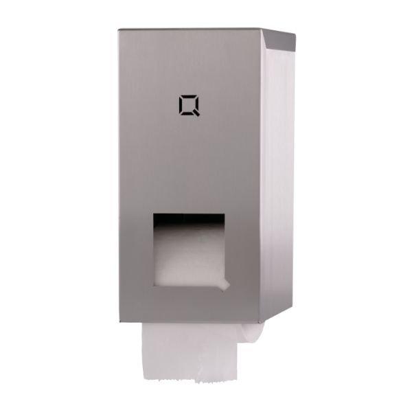toiletroldispenser Qbic-line RVS mat  QTR2 SSL
