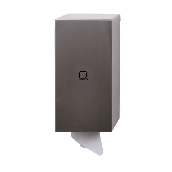 Toiletrolhouder Qbicline RVS mat  QTT2 SSL