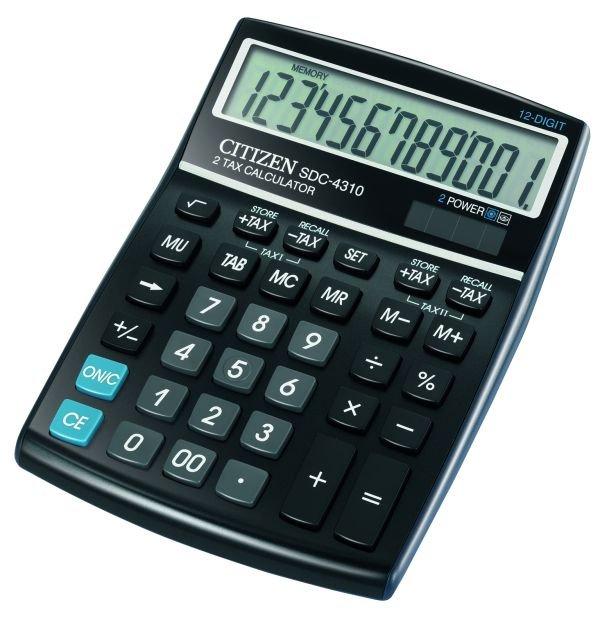 Citizen bureau rekenmachine 12 cijferig SDC4310 (1)