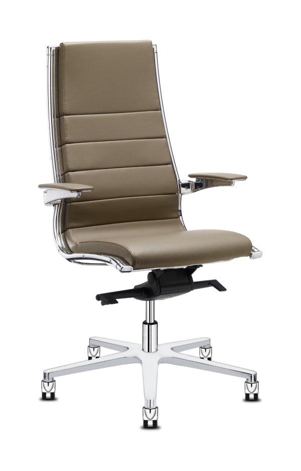 Sit-it classic directiestoel high back chroom voor directiekamer of kantoor werkplek (1)