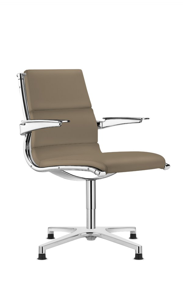 Vergaderstoel Sit-it meeting classic Sitland met self return mechaniek / Italiaans top design en scherpe prijs (1)