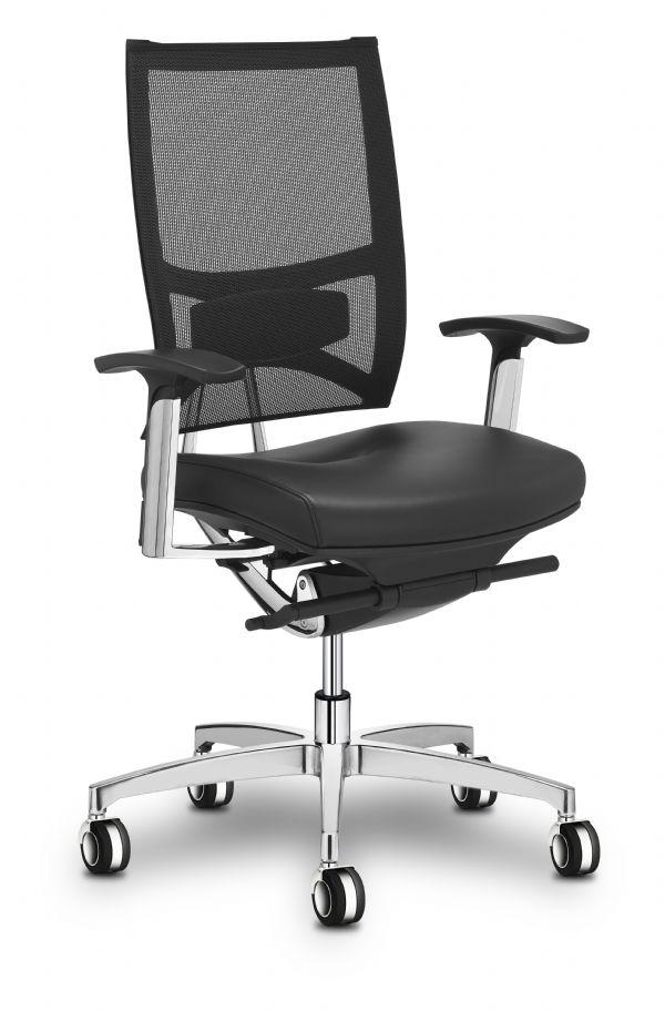 Spirit Air manager bureaustoel van Sitland met mesh rugbespanning voor heerlijk zitcomfort (1)